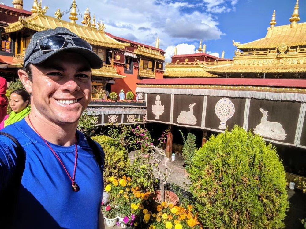 Cory in Tibet, 2017