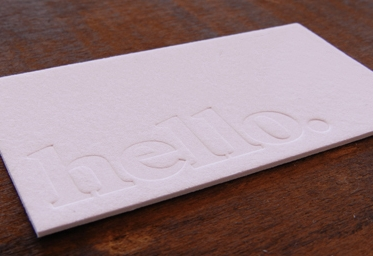Business cards& Stationery - To stand out from the rest of the pack, your business cards needs to make a lasting impression