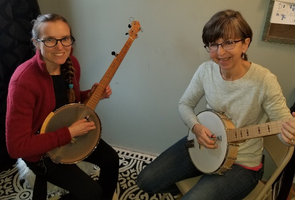 Banjo Lessons - We have the only professional-based banjo instructor in Greenbrier County! In your banjo lesson you will learn all different styles, including claw-hammer, finger-picking, blue-grass, Celtic and old-time, to find your own unique style! You will learn proper techniques, theory and the ability to read various forms of music.