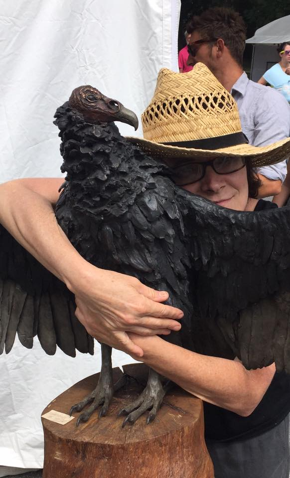 Have you hugged a vulture today?