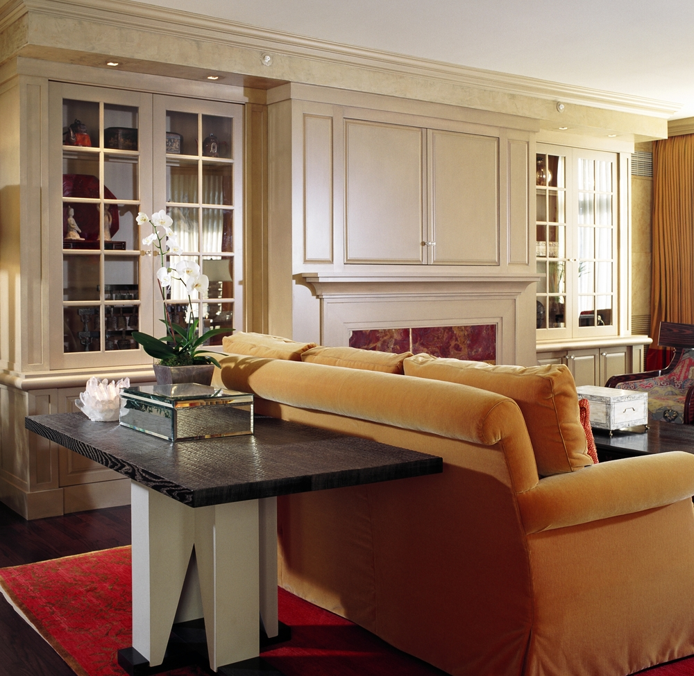Chicago Luxury Condo - 1st Place ASID Award. Published in Chicago Social Magazine.