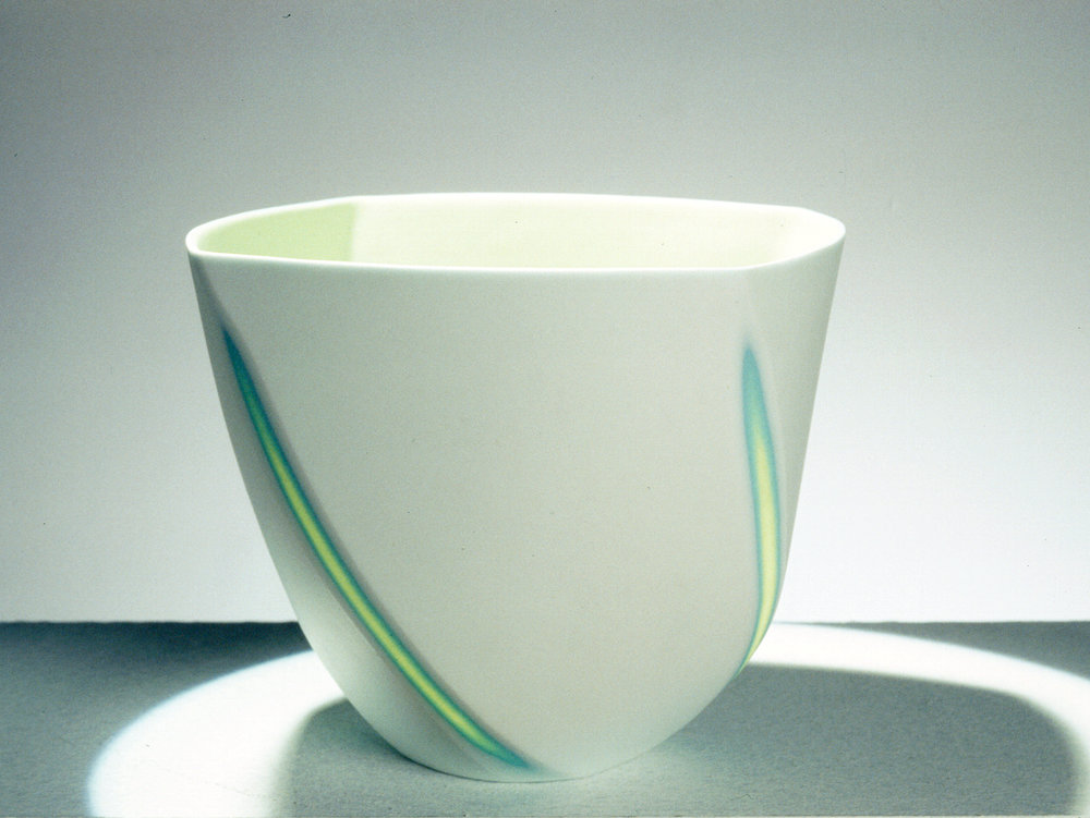 Small Lime Green bowl  - 9 cm h