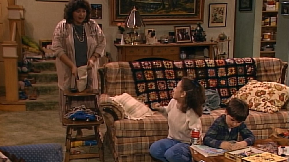Date night Roseanne looks like a flammable bedspread at your great aunt's house.