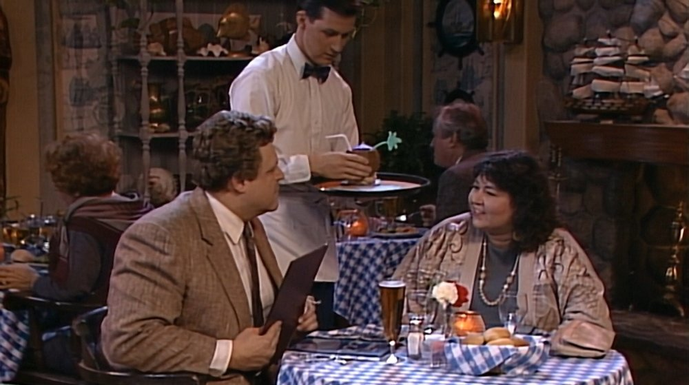 Roseanne wanted something with an umbrella in it, and her wish is Chuck's command.