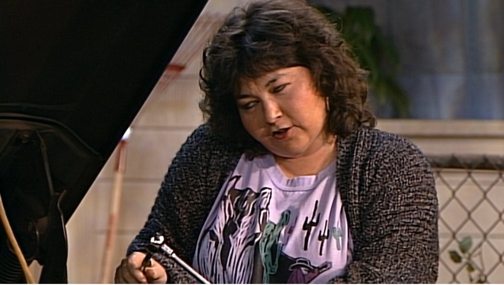 Roseanne eye rolling so hard she might just pass out.