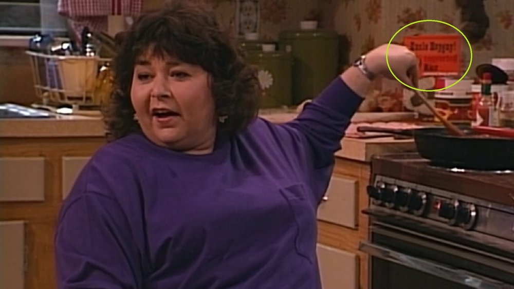 The return of Uncle Heyguy! and we love that Roseanne is sitting and cooking. Right on.