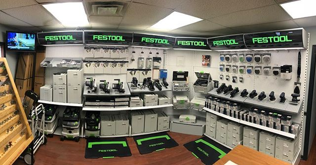 Come check out our new Festool show room. Let us help you pick the right Tool for your project.  Tools for the toughest demands. #festool #tools #chicagotools #woodworkingtools #woodworking #woodwork #chicagocontractor #customwoodwork #customwoodworking #sanders #saw #drywallfinisher #drywall #dustextraction