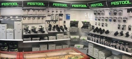 FESTOOL SHOP - 3B Saw & Tool is an authorized Festool dealer.