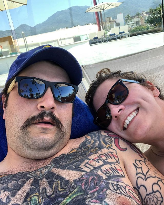 Tuck and Nancy are on there GD honeymoon and Tuck drank his body weight in margaritas so now it's a weekend at Bernie's scenario until bottomless tacos tonight.