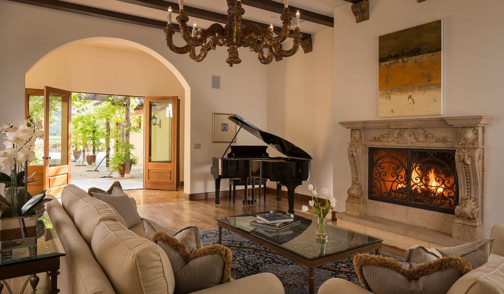 Calistoga retreat -