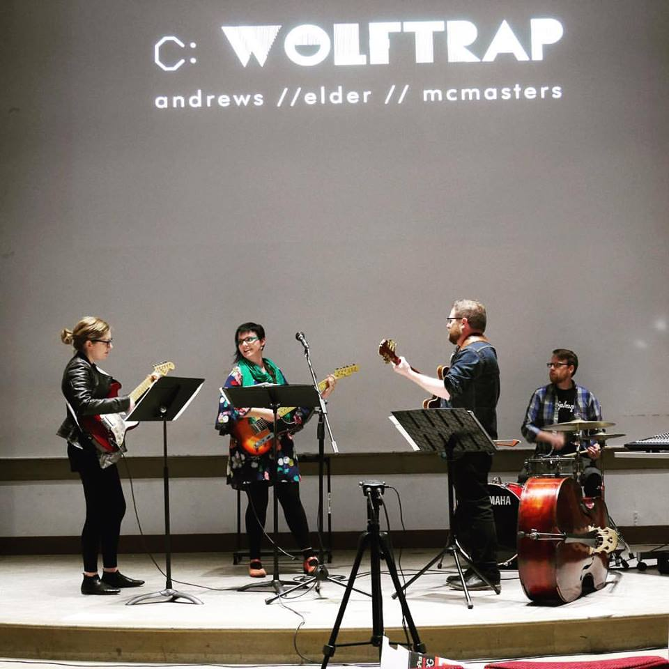 Performing with wolfTrap