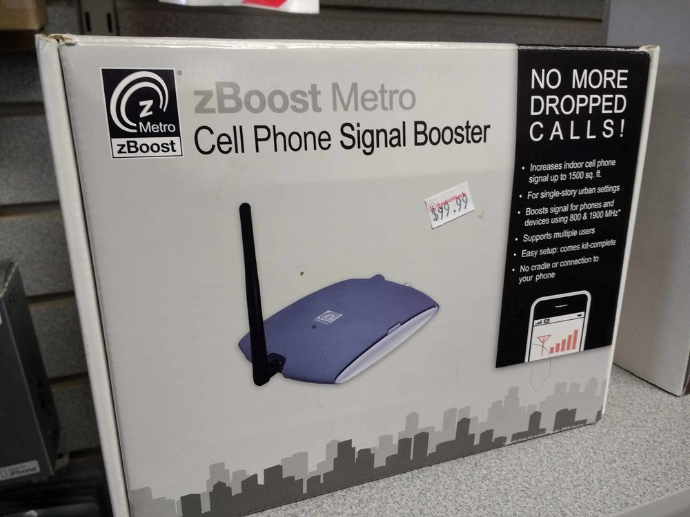 Improve your cell phone signal and avoid dropped calls with this smartphone signal booster.