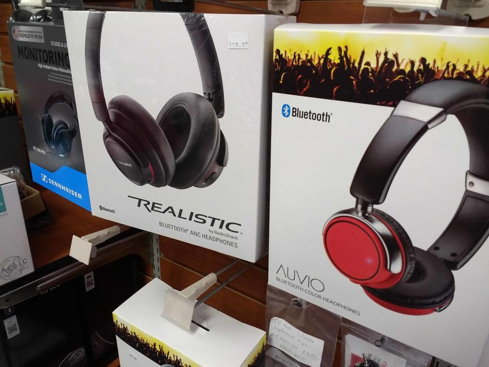Our headphone options include designer models and the convenience of Bluetooth.