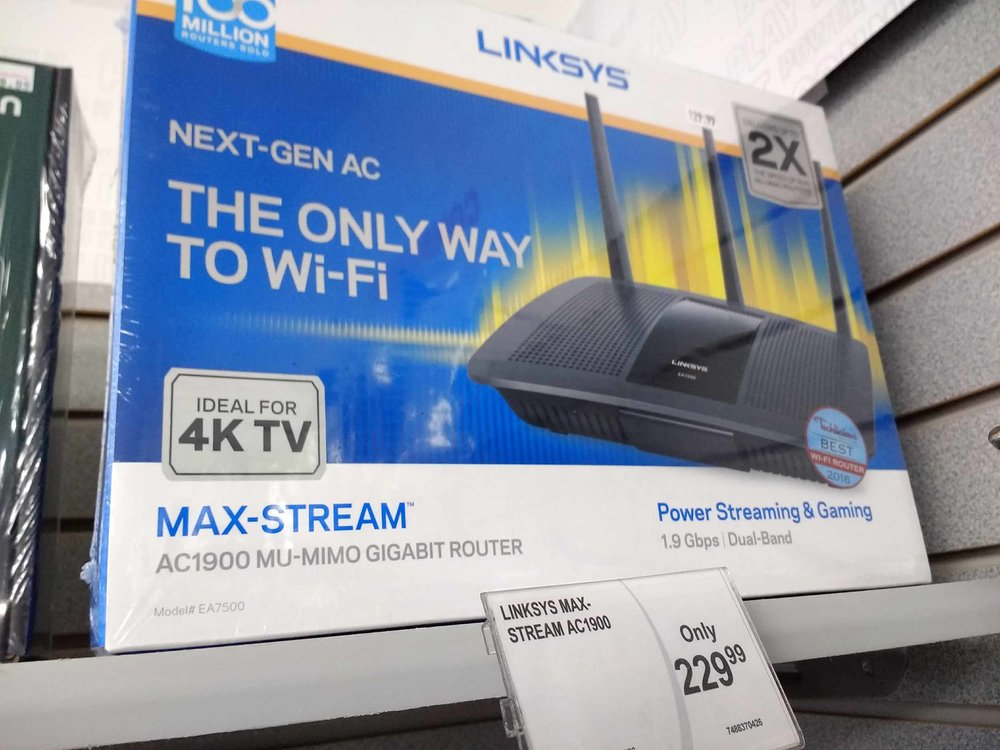 Fast wi-fi routers by name brands.