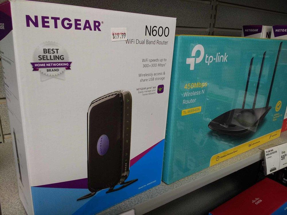 Netgear N600 dual band router