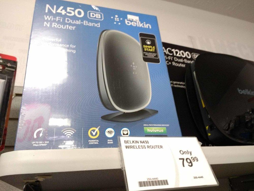 Belkin routers in stock