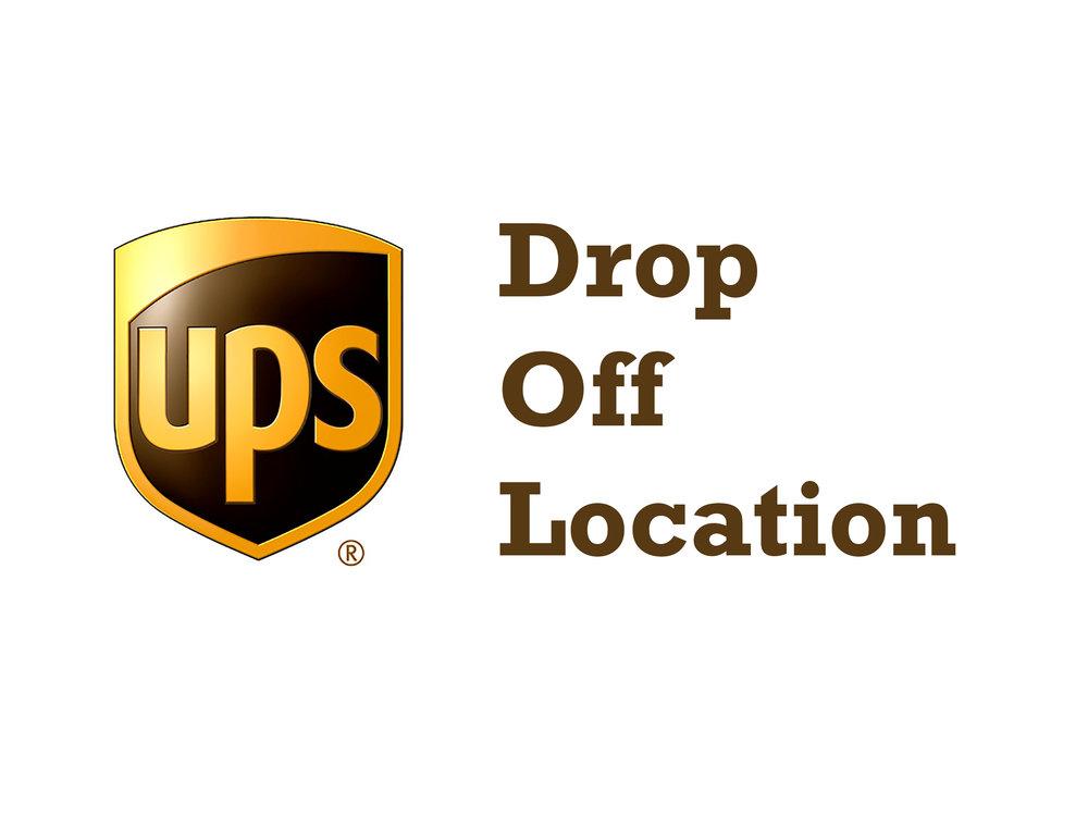 UPS Drop Off Location