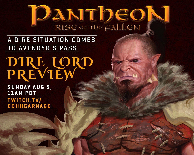 Pantheon Stream August 5th — Pantheon News
