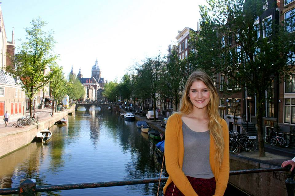 Me five years ago (in Amsterdam) while studying abroad.