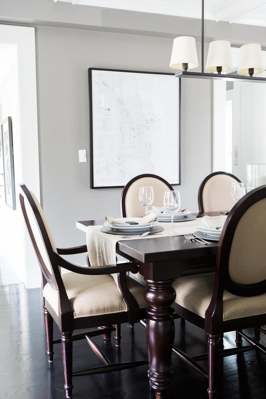 Dining Room Modern Industrial Farmhouse Interior Design