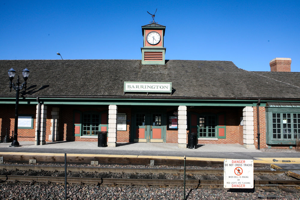 Barrington Metra Station