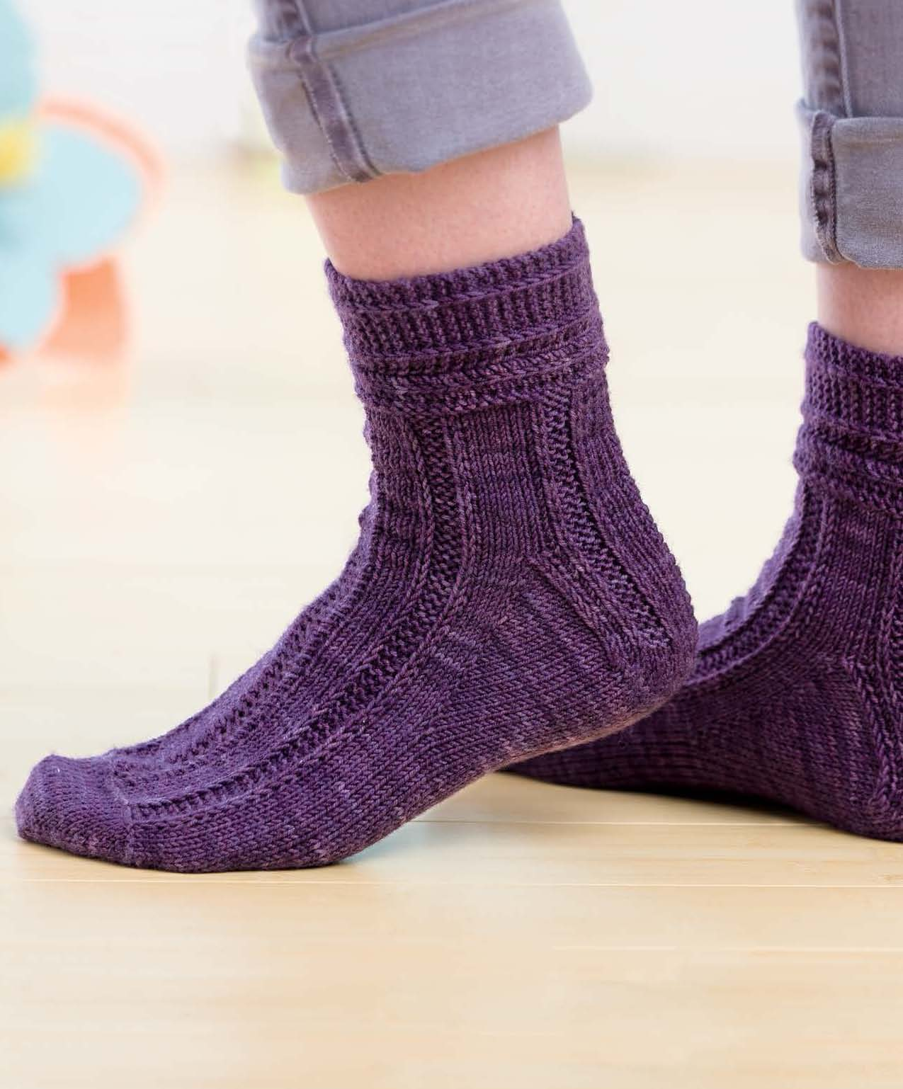 Sockupied - Muscadine Socks beauty shot