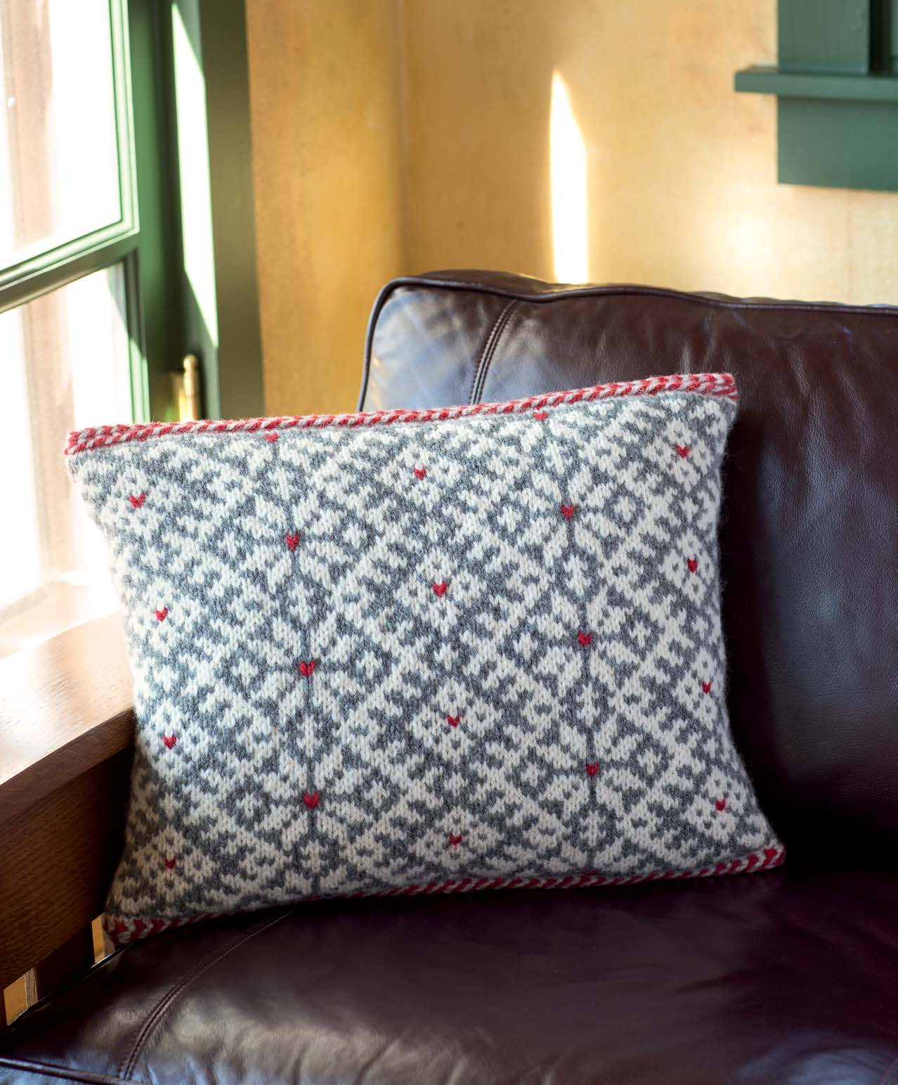 First Frost - Snorri Cushion beauty shot
