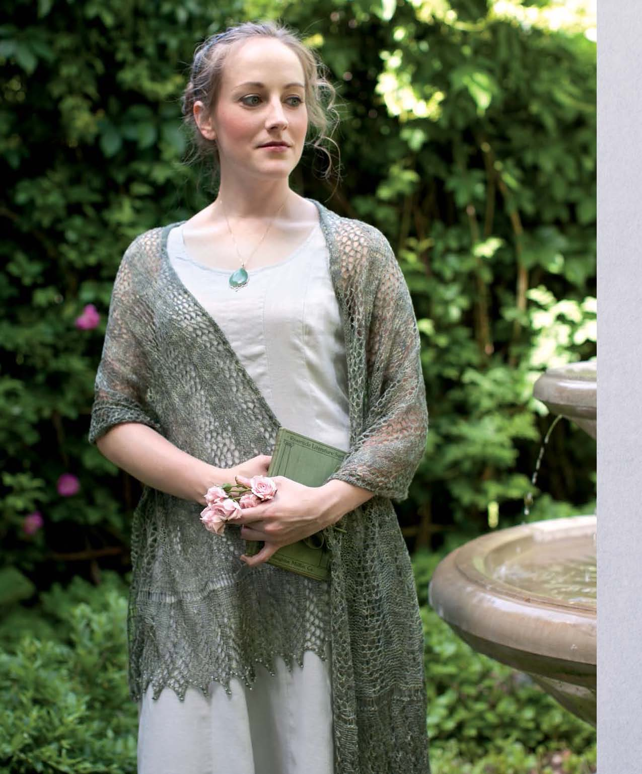 The Best of Jane Austen Knits - Georgiana Darcy's Fancy Shawl beauty shot