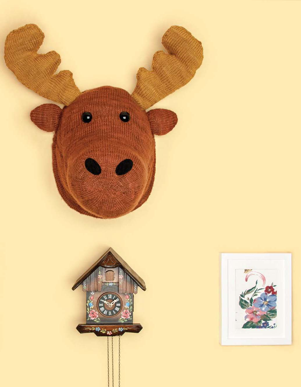 Faux Taxidermy Knits - Moose Head beauty image
