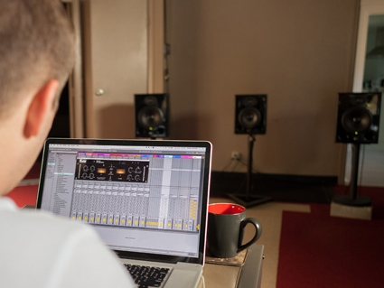 Location - Classes are taught right in our studio. Discover pro audio engineering techniques while mixing a multitrack recording in class.