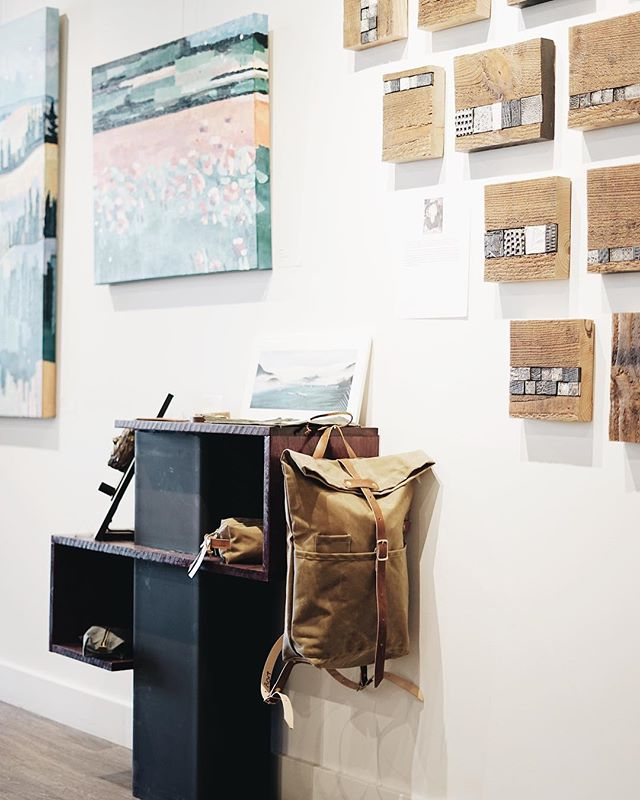 head over to @studioyegart (Edmonton) to see some beautiful art, and a select line up of our goods.