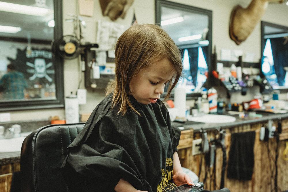 Sawyer, age 3.