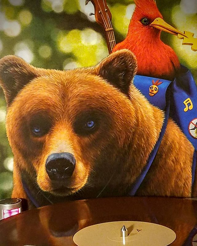 * Banjo Kazooie Video Game Soundtrack 🎵🎶🎵🎶🎵 2015 IAm8Bit 🎮🕹🎮🕹🎮🕹 Double Color Vinyl 🐻🐾🐻🐾🐻🐾 (Bear Brown, and the other is Red-Crested Breegull color 😊)