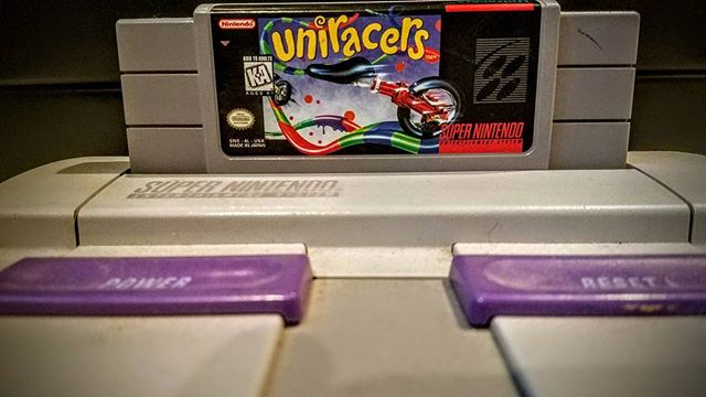 * Game of the Day:  Uniracers Super Nintendo 1994 Still love this game!