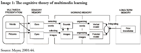 From de Sousa, Luiza, Richter, Barry, & Nel, Carisma. (2017). The effect of multimedia use on the teaching and learning of Social Sciences at tertiary level: a case study.  Yesterday and Today , (17), 1-22.
