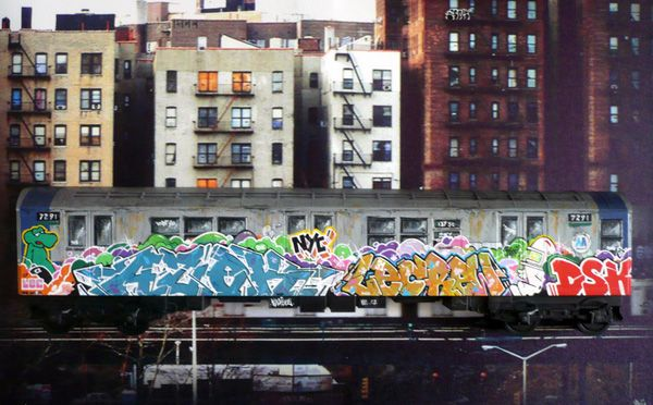 Urban Art or Graffiti Vandalism? Review of Stations of the Elevated - Shelterforce, June 11, 2014