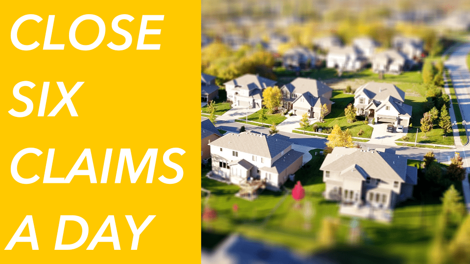 7 ways to inspect and close six [or more] hail claims in one day - part one  — adjustertv