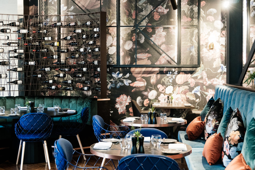 Jardin Grill - The beautiful interior of this lush restaurant is beguiling. Such memorable dining experience paired with amazing offerings.