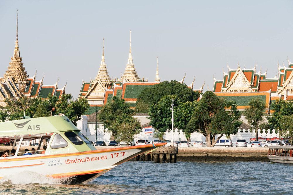 Supanniga Cruise at Chao Phraya River Bangkok
