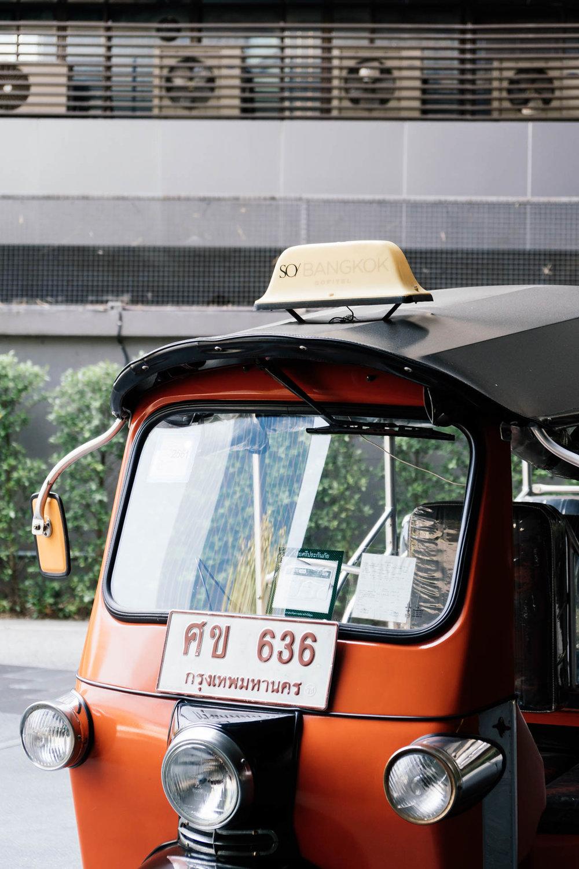 SO/ Sofitel Bangkok's Tuktuk