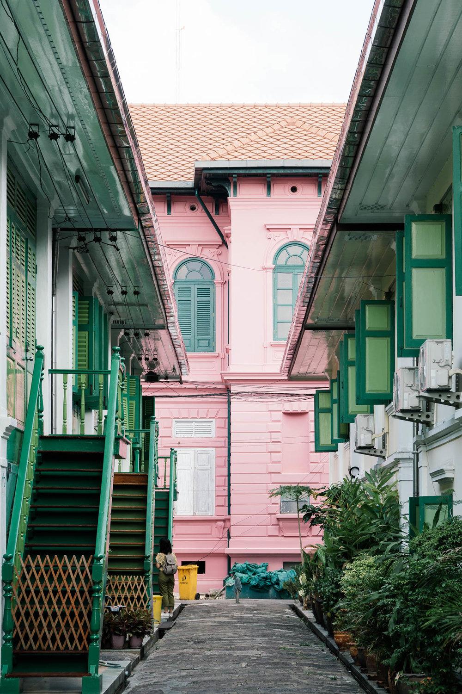 Buddhist House in Bangkok