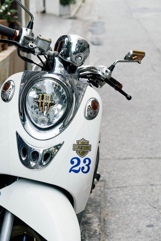 Motorcycle in Bangkok