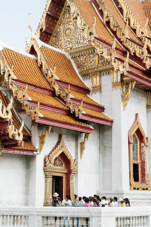 Details of Wat Benchamabophit