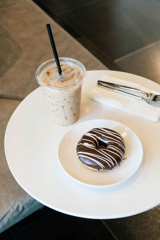 Donuts and coffee at KOF