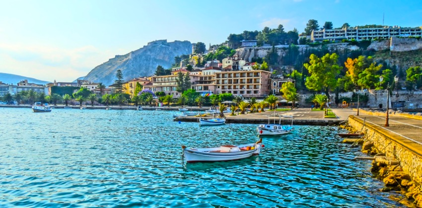 The beautiful and quaint town of Nafplion