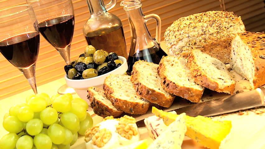 Enjoy delicious Greek food and wine