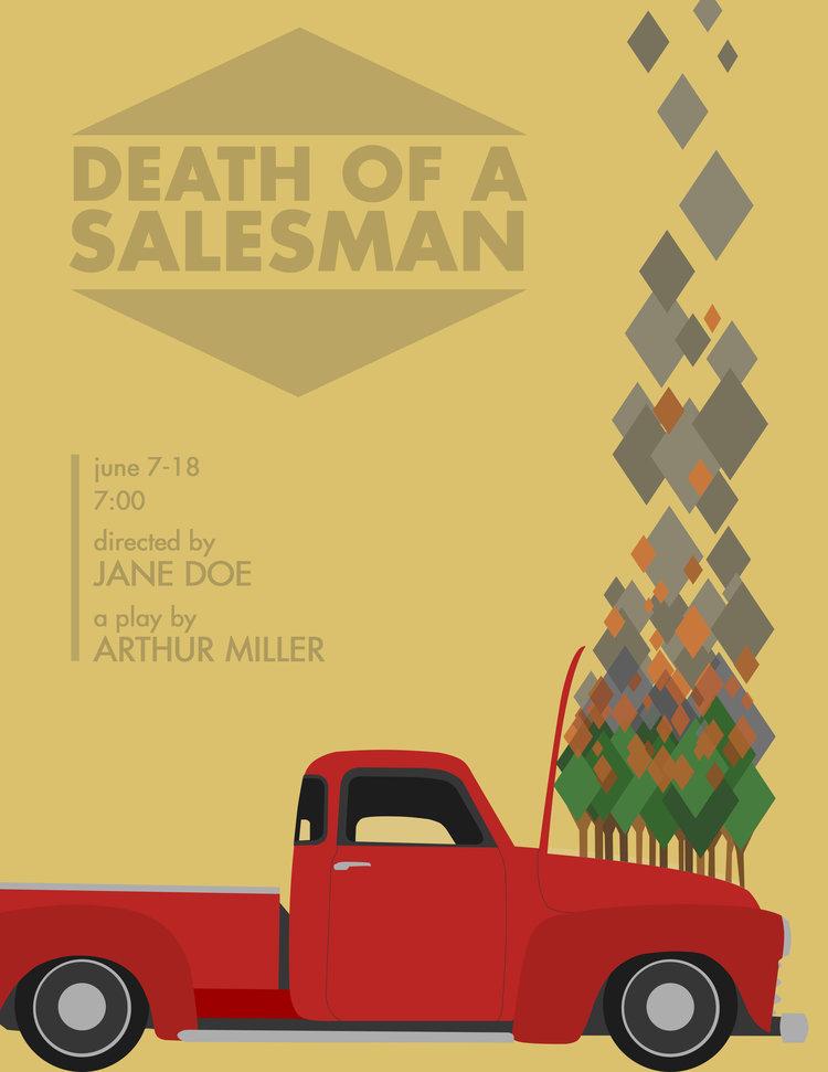 death of a salesman car