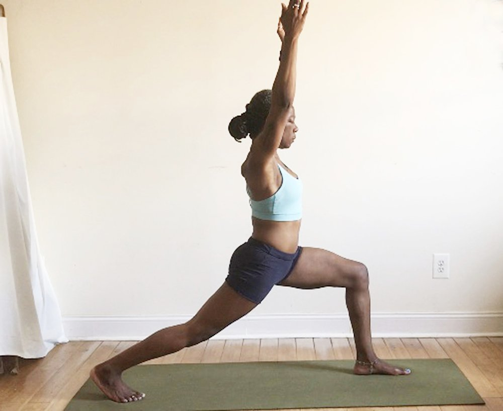 utthita ashwa sanchalanasana. (back heel lifted.)