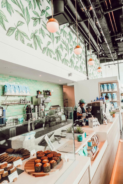 Bluestone Lane Cafe's location is 1100 23rd St. NW Washington, DC