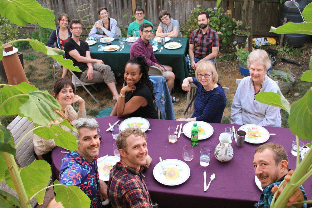 139 DOWN, 55 TO GO! - We're hosting a series of 194 dinner parties for the members of the United Nations, in alphabetical order. We invite guests to our home in Portland to share what they know about that country or to learn through the food. The dinner parties are also a fundraiser supporting Mercy Corps.